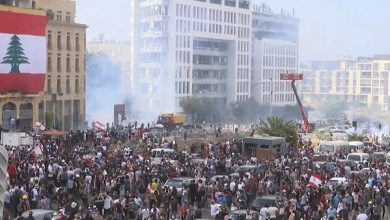 Photo of Anti-government protesters take to the streets following Beirut explosion