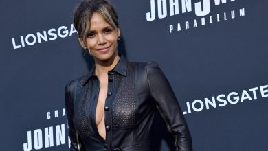 Photo of Halle Berry Celebrates 54th Birthday With Pic of Herself Skateboarding in a Bikini