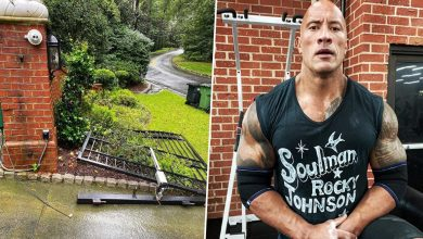 Photo of Dwayne Johnson Rips Off Front Gate with His Bare Hands to Get to Work: 'Not My Finest Hour'