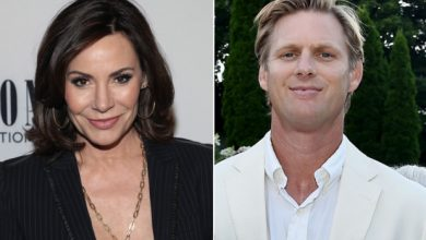 Photo of Luann de Lesseps dating Hamptons trainer Garth Wakeford