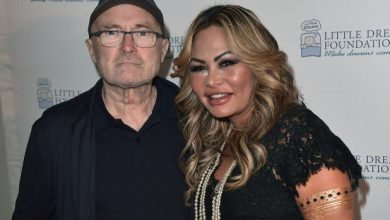 Photo of Orianne Cevey alleges Phil Collins is impotent, didn't bathe for months