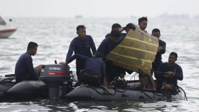 Photo of Hopes for survivors fades as passenger plane wreckage found off Indonesian coast