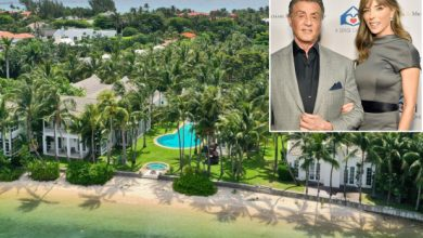 Photo of Sylvester Stallone lists LA mansion for jaw-dropping $130M.