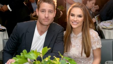Photo of Justin Hartley and Chrishell Stause finalize divorce.