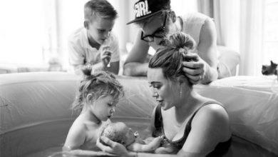 Photo of Hilary Duff welcomes second child with husband Matthew Koma.