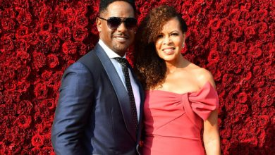 Photo of Blair Underwood and Desiree DaCosta are getting divorced.
