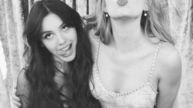 Photo of Olivia Rodrigo Takes a Selfie With Her Idol Taylor Swift at the 2021 BRIT Awards