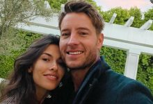 Photo of 'This Is Us' star Justin Hartley and Sofia Pernas are married.
