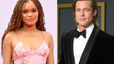 Photo of Andra Day speaks out on Brad Pitt dating rumors.
