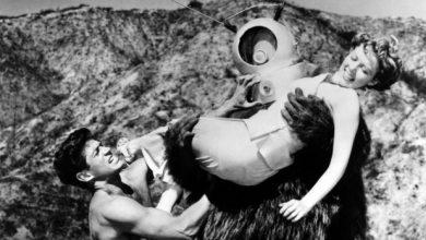 Photo of Claudia Barrett, 'Robot Monster' femme fatale, dead at 91.
