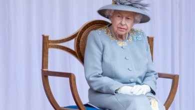 Photo of Queen Elizabeth celebrates her 95th birthday with Trooping the Color parade.