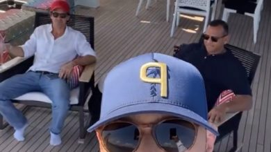 Photo of Alex Rodriguez sets sail on European yacht trip for 46th birthday.