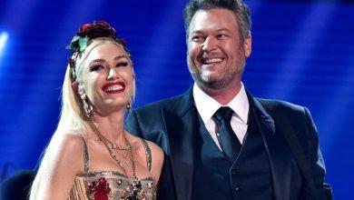 Photo of Blake Shelton and Gwen Stefani get marriage license.