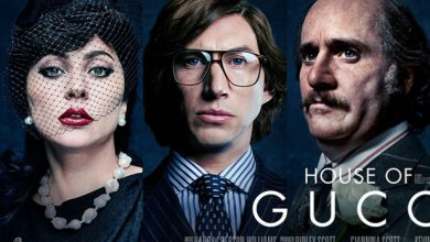 Photo of New film posters for 'House of Gucci' show a shocking Jared Leto.