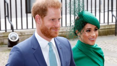 Photo of Meghan Markle and Prince Harry working on Netflix animated series.
