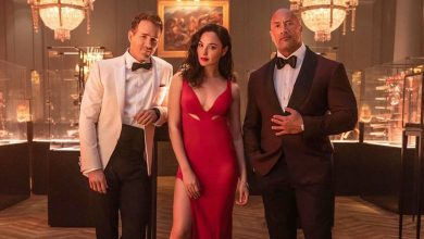 Photo of 'Red Notice': Dwayne Johnson, Gal Gadot, and Ryan Reynolds Are Dapper in New Image as Netflix Movie Gets Release Date