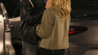 Photo of Shanna Moakler and boyfriend Matthew Rondeau break up.