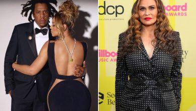 Photo of Tina Knowles-Lawson defends Beyoncé amid Tiffany Diamond controversy.