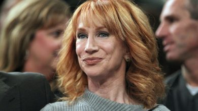 Photo of Kathy Griffin's lung cancer surgery was 'more than' she anticipated.