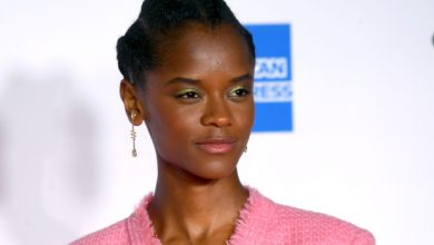 Photo of Letitia Wright hospitalized after stunt accident on 'Black Panther' set.