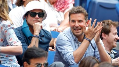 Photo of Brad Pitt and Bradley Cooper bro out at the US Open 2021.