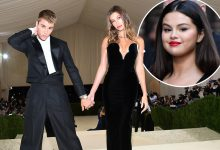 Photo of Justin Bieber, Hailey Baldwin taunted with 'Selena' chant at Met Gala.